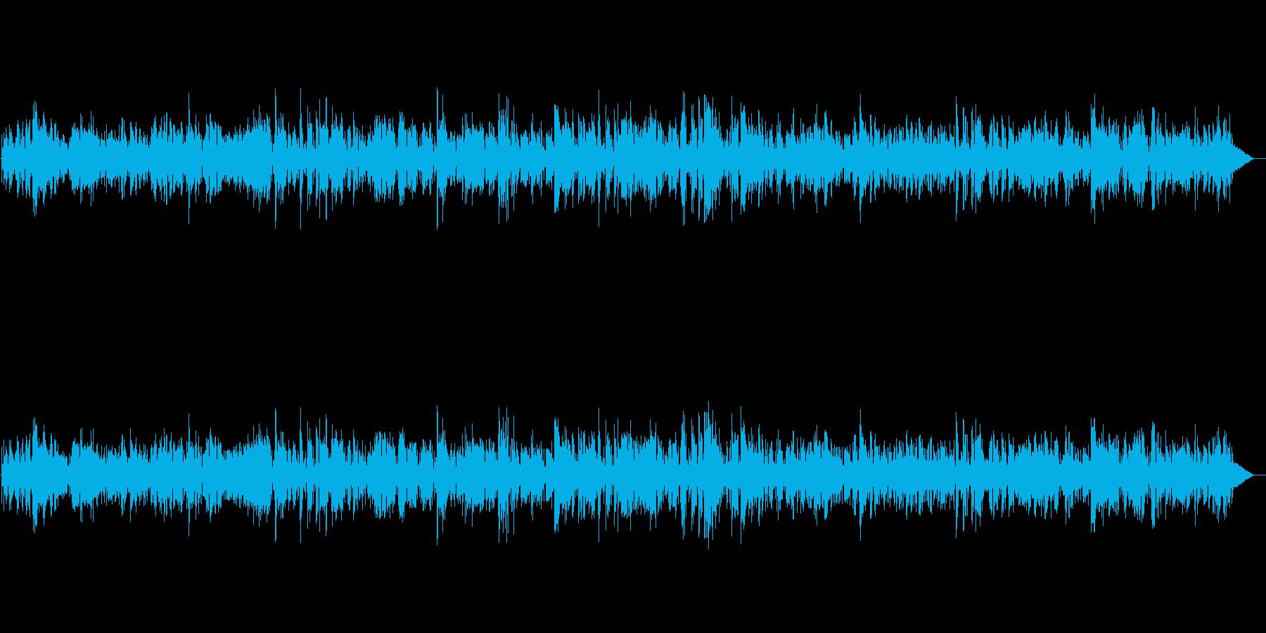 テンションを上げる気分向上ジャズBGMの再生済みの波形