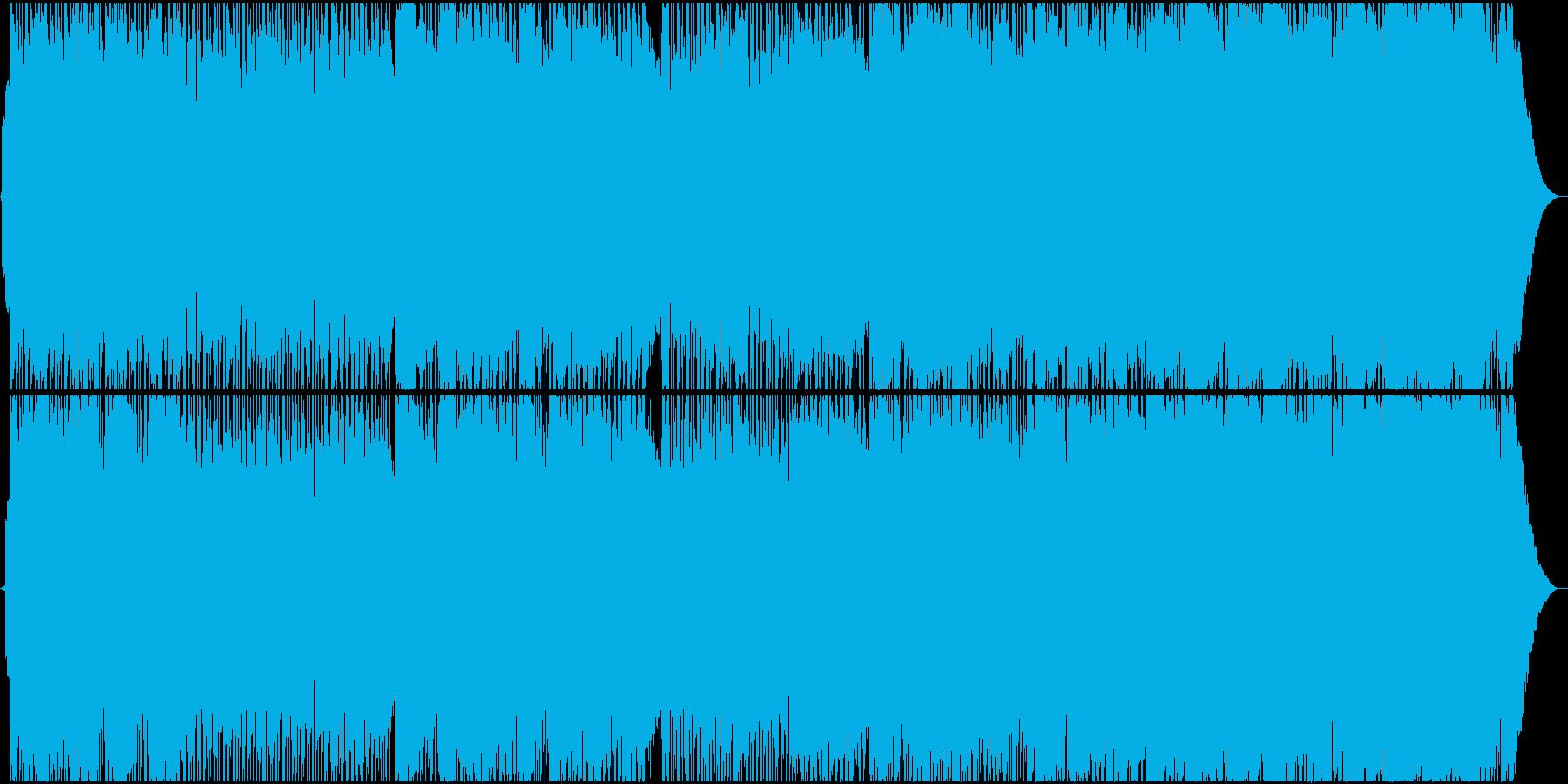 生演奏。切ない8ビートギターロックの再生済みの波形
