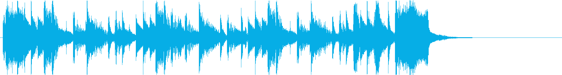 【DJ効果音】始まったばかりの再生済みの波形