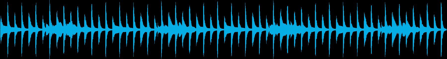 スマホTVCMの様な明るいループ。の再生済みの波形