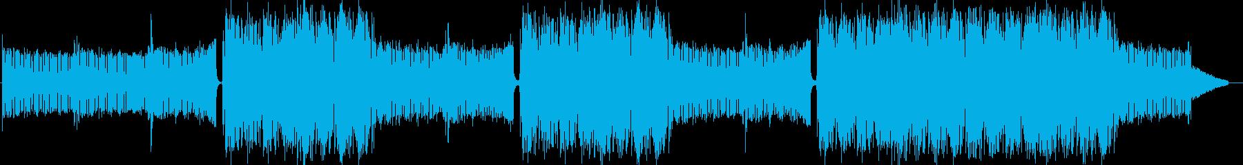EDMクラブ系ダンスミュージック-05の再生済みの波形