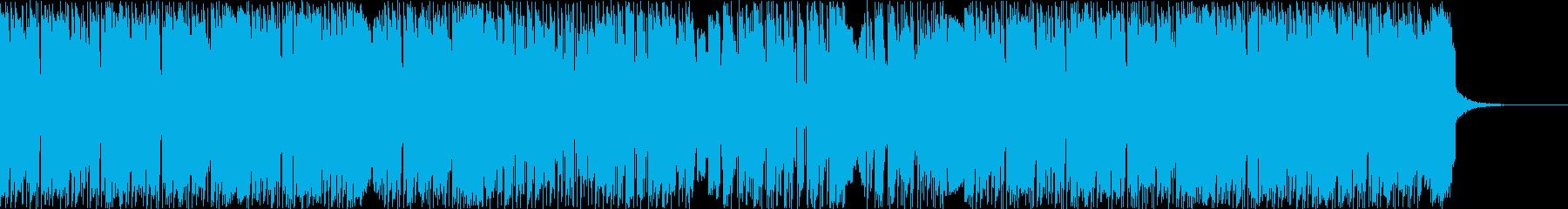スタイリッシュでモダンなヒップホップの再生済みの波形