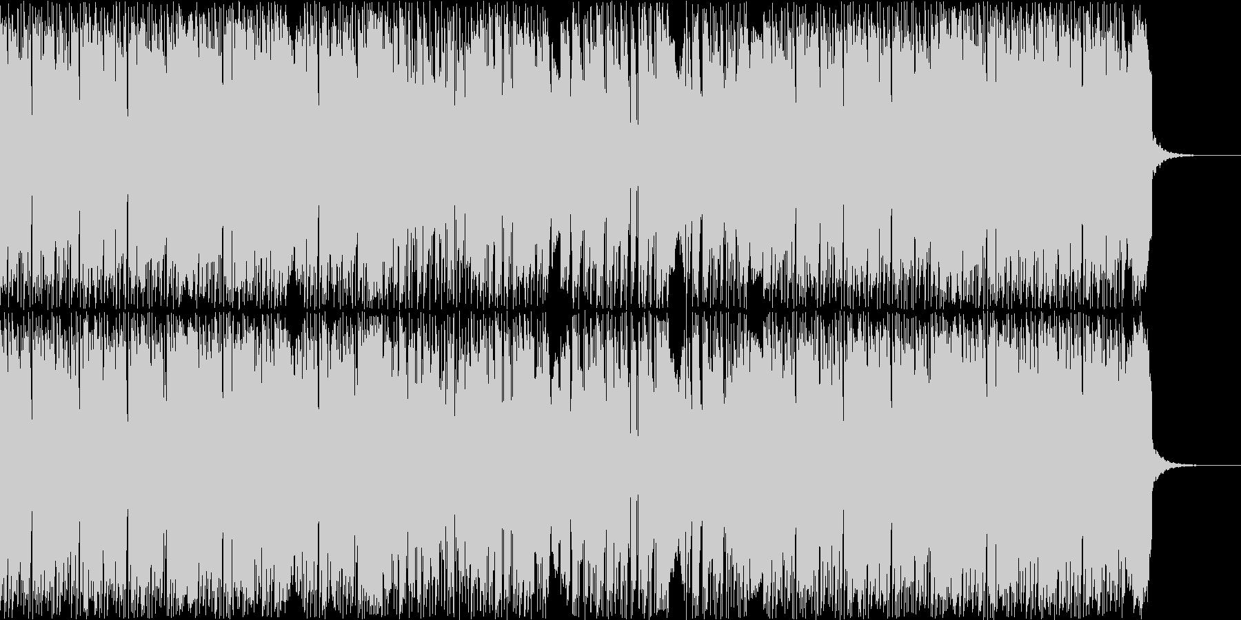 スタイリッシュでモダンなヒップホップの未再生の波形