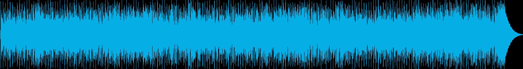 清涼感溢れるBGMの再生済みの波形