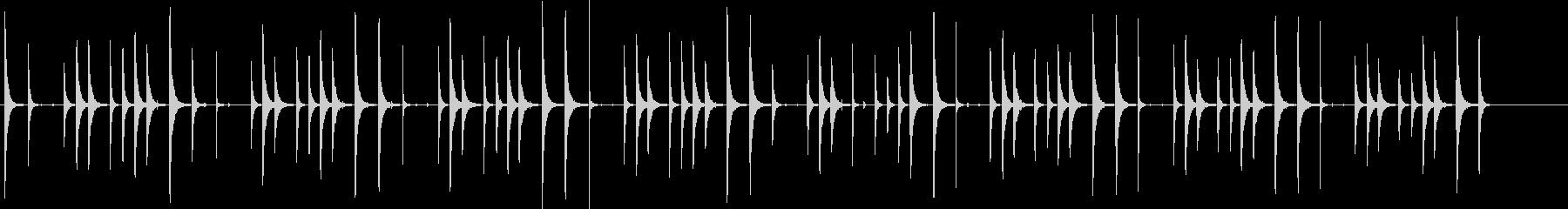 ボンゴドラム:ラテンリズム、ドラム...の未再生の波形