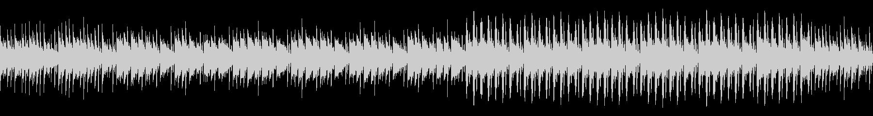 ポップなBGMアレンジの未再生の波形