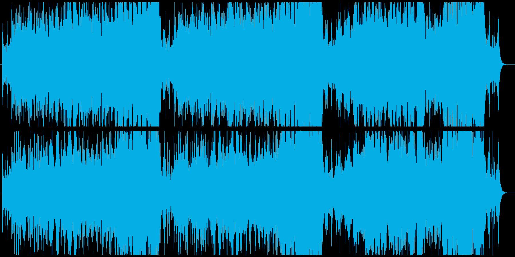 オープニング風オーケストラ! 壮大、感動の再生済みの波形