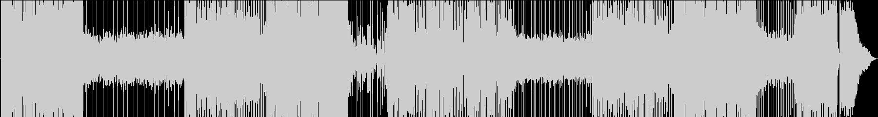 ゆったりレゲトンの爽やかシーケンスEDMの未再生の波形