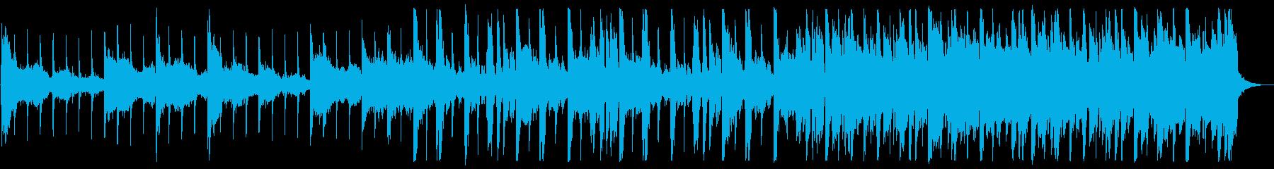 優しい雰囲気のR&B_No495_2の再生済みの波形