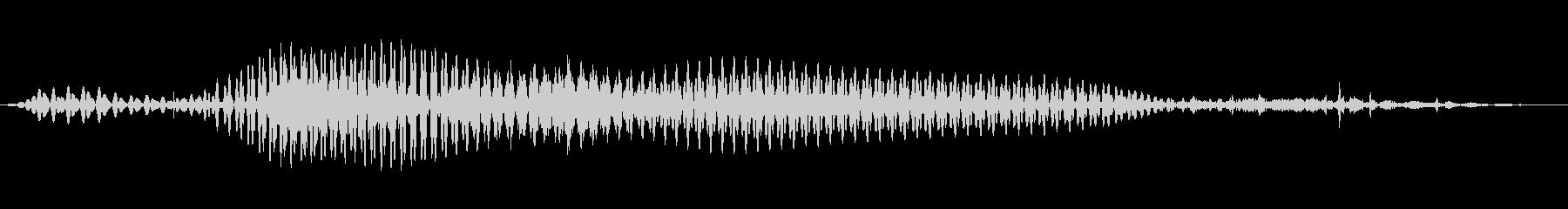 ボンジュール、bonjour_2の未再生の波形