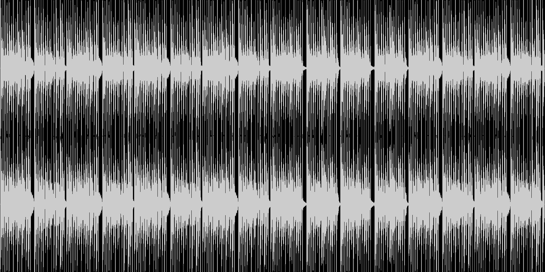 CM等で使われる事を想定した短いダンス曲の未再生の波形