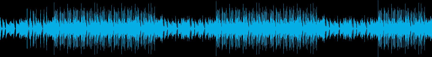 ジャズ・ピアノ・夜・大人・恋愛・シックの再生済みの波形