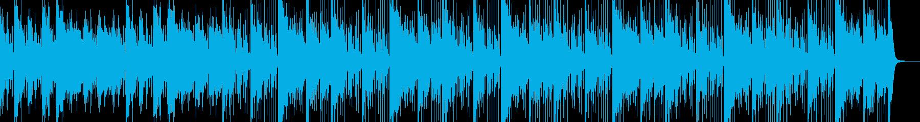 異様な空気感の奏でるミステリアスなBGMの再生済みの波形