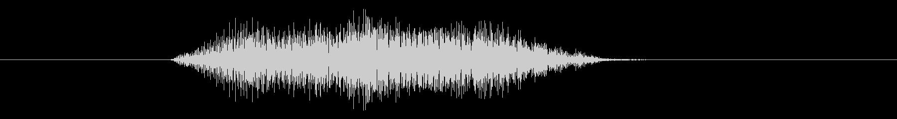 コミカルな効果音_11の未再生の波形