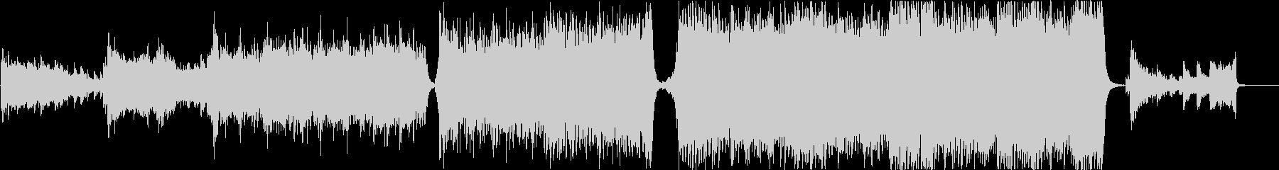現代的 交響曲 エピック 弦楽器 ...の未再生の波形