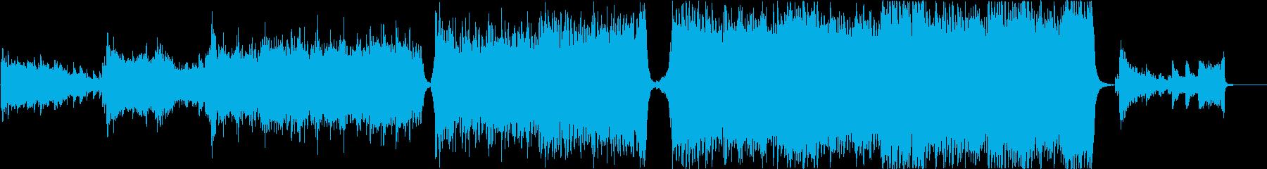 現代的 交響曲 エピック 弦楽器 ...の再生済みの波形