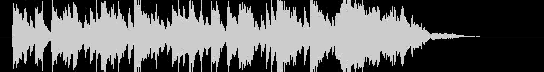 ポップ.キュート.ピアノ.ジングル.ロゴの未再生の波形