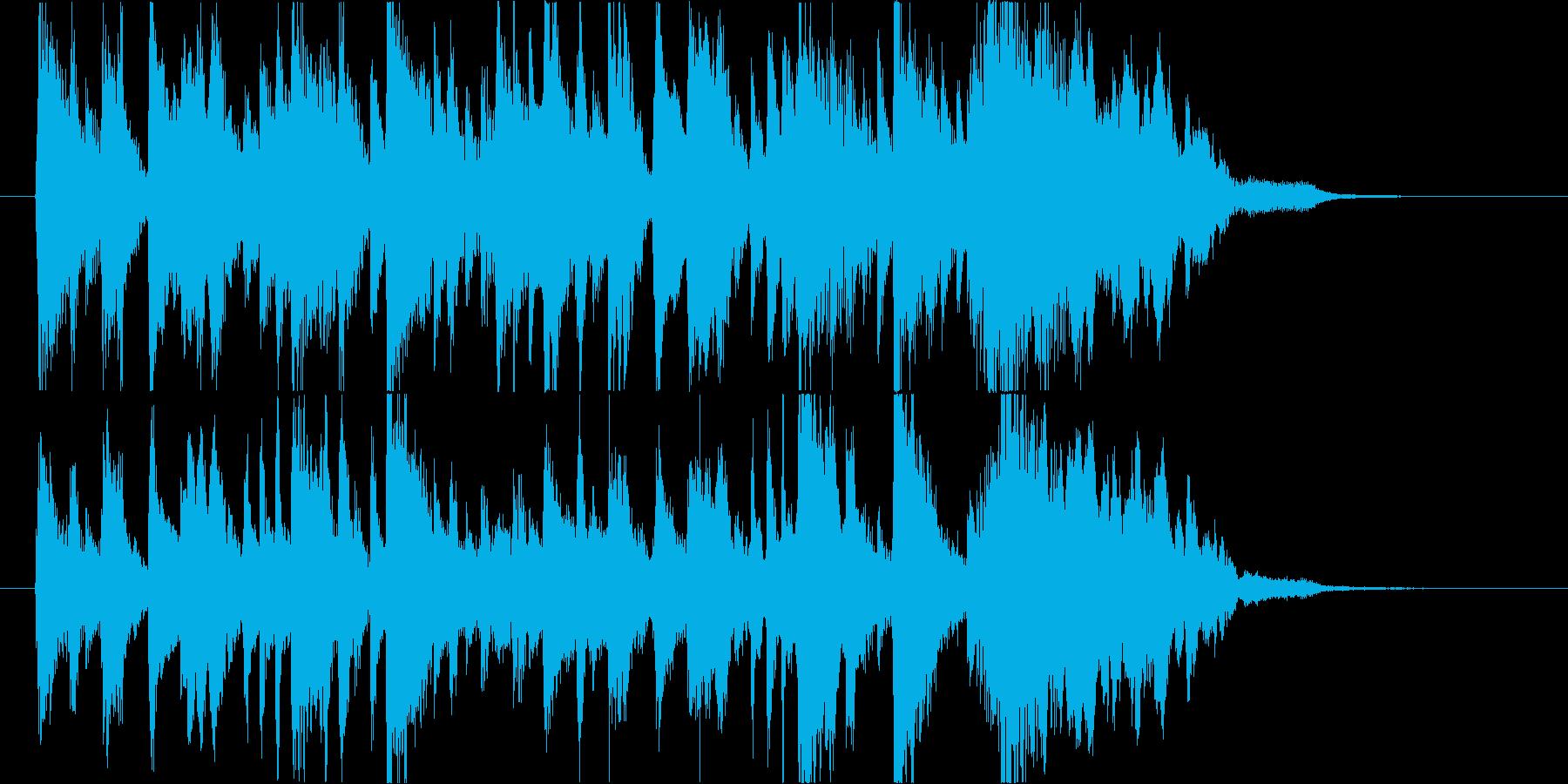 ポップ.キュート.ピアノ.ジングル.ロゴの再生済みの波形