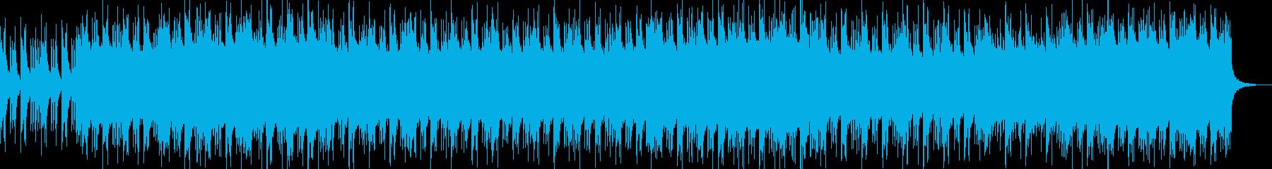 明るめピアノに空間ドラムとエレクトロの再生済みの波形