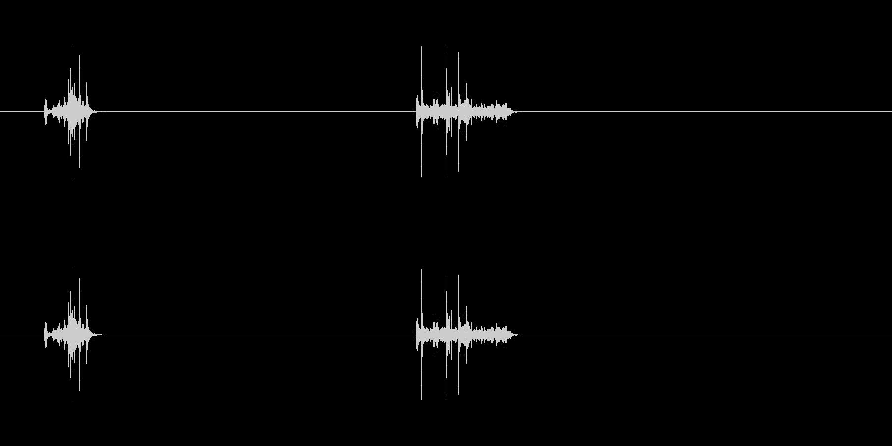 【カメラ シャッター01-4】の未再生の波形