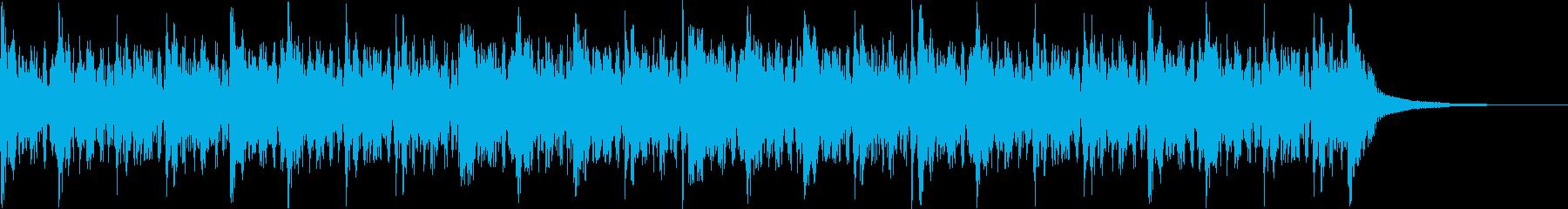Pf「覗」和風現代ジャズの再生済みの波形