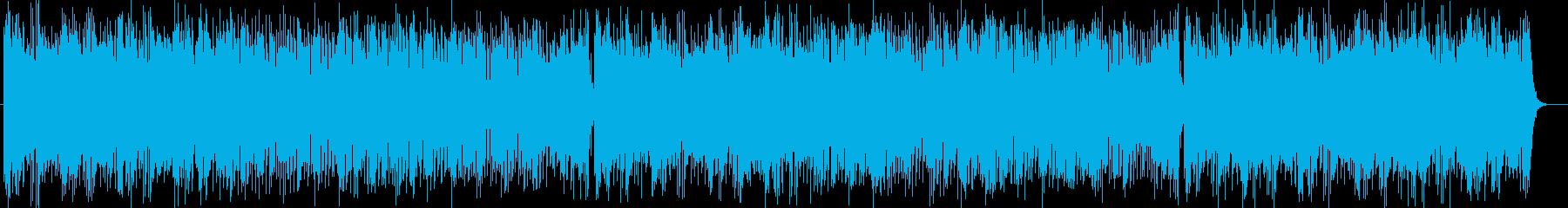 緩やかで明るいトランペットポップスの再生済みの波形