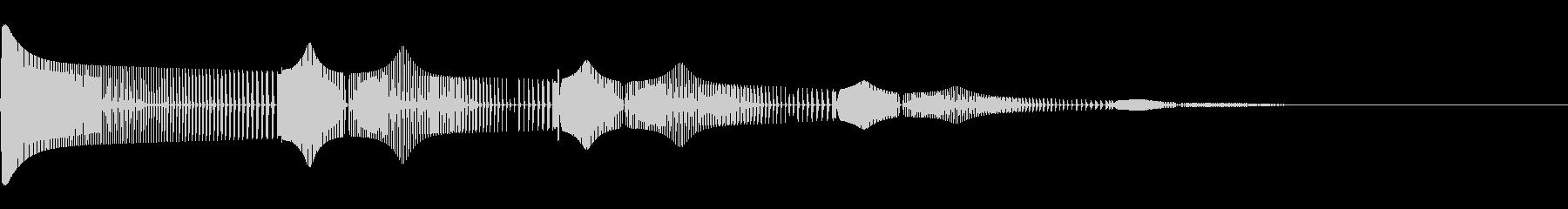 チュンチュン(死亡/ミス/失敗/ゲーム)の未再生の波形