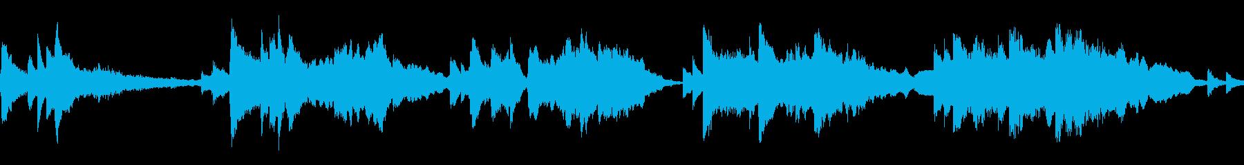 ファンタジックなプロローグの再生済みの波形