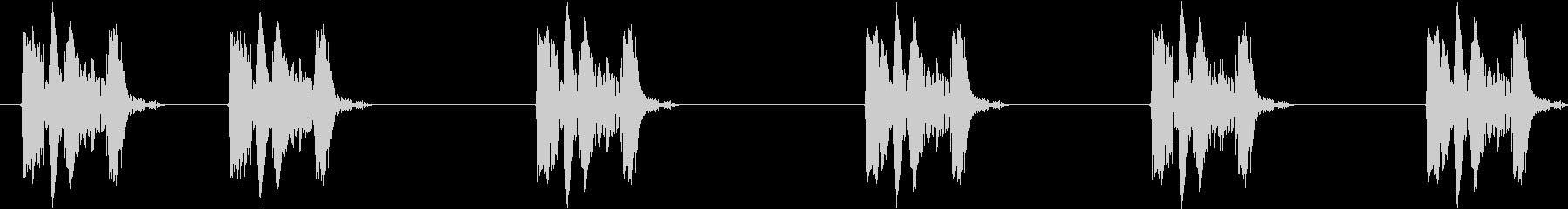 サイレンサー付きハンドガン:シック...の未再生の波形