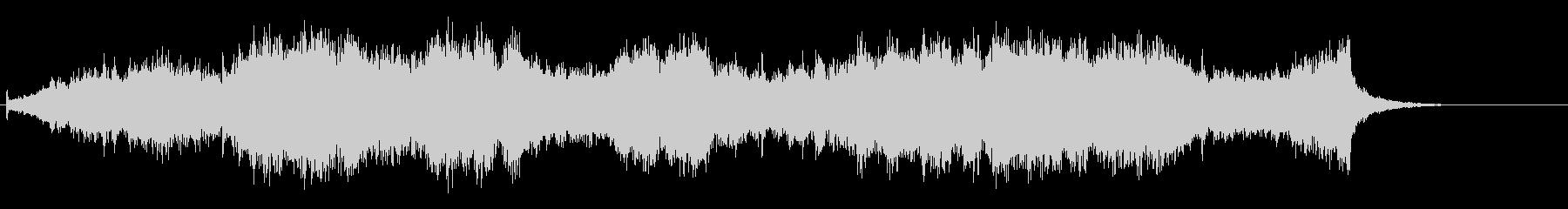 ホラー要素のあるクワイアの未再生の波形