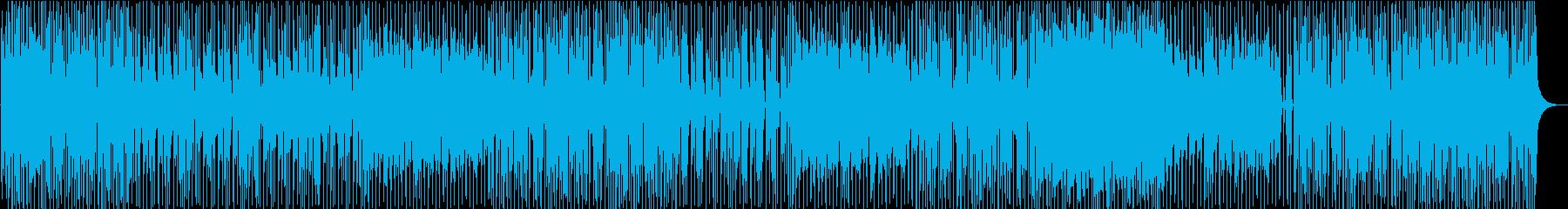ノリの良いポップ、インストの再生済みの波形