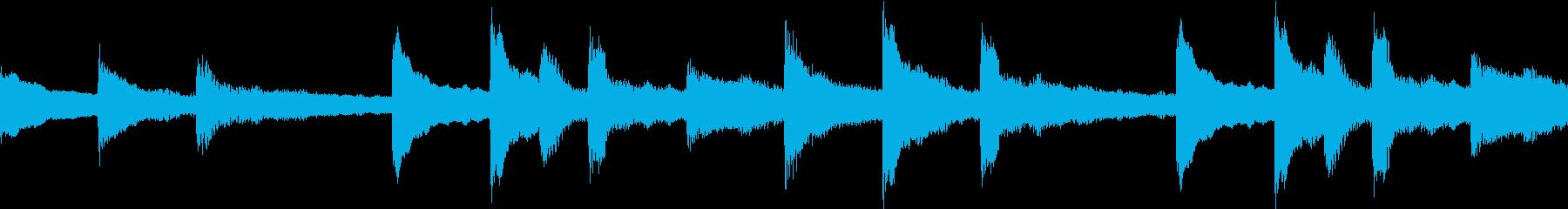 ミッドテンポで脈動する、やや神秘的...の再生済みの波形