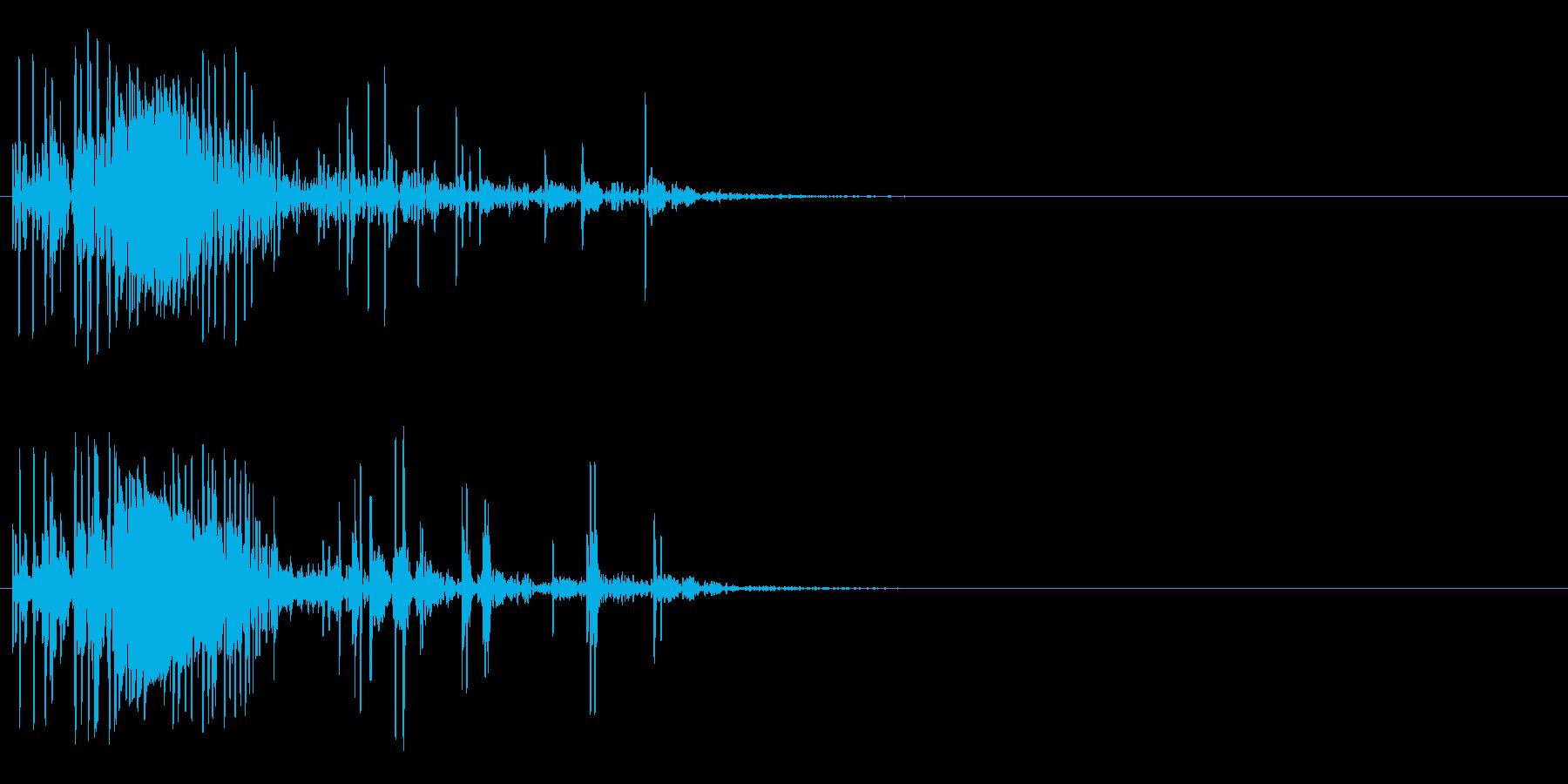 「 ガガガ・・」強力な衝撃・破壊音#4の再生済みの波形