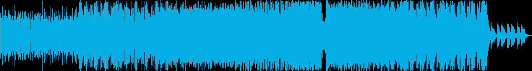 ドライブに流したいfuturebassの再生済みの波形