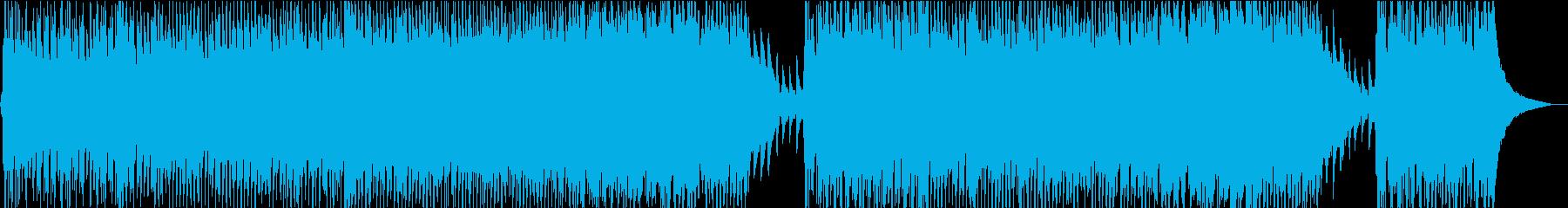 始まりの空気の再生済みの波形