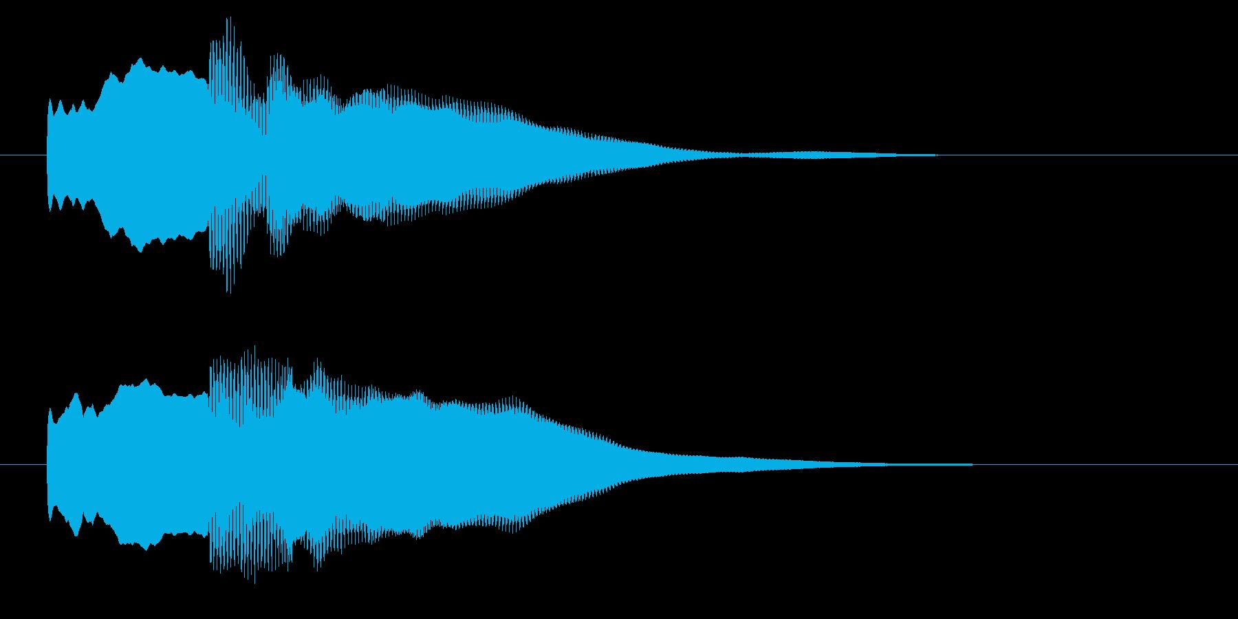 改札 アラーム01-7(音色1 遠)の再生済みの波形