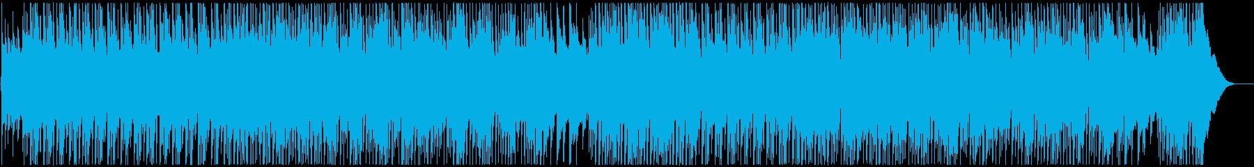 60年代風ポップロックの再生済みの波形
