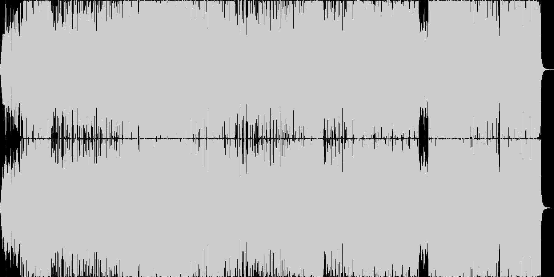 アニメ主題歌風の明るいアイドル_女性Voの未再生の波形
