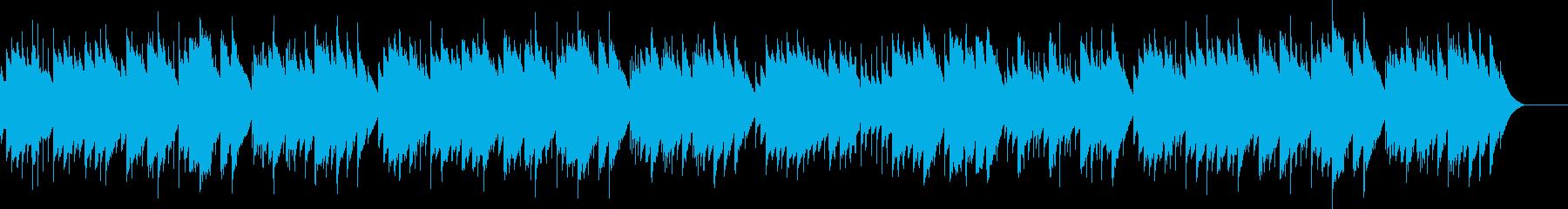 ディヴェルティメント 17番 オルゴールの再生済みの波形