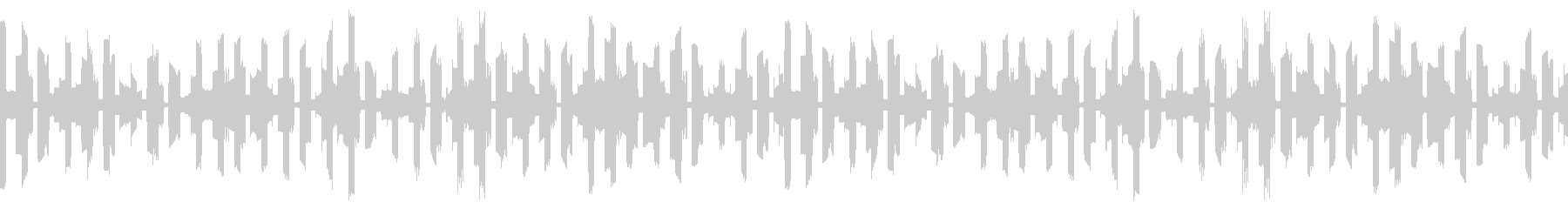 【ループ可】不安を煽るコンピューター音の未再生の波形