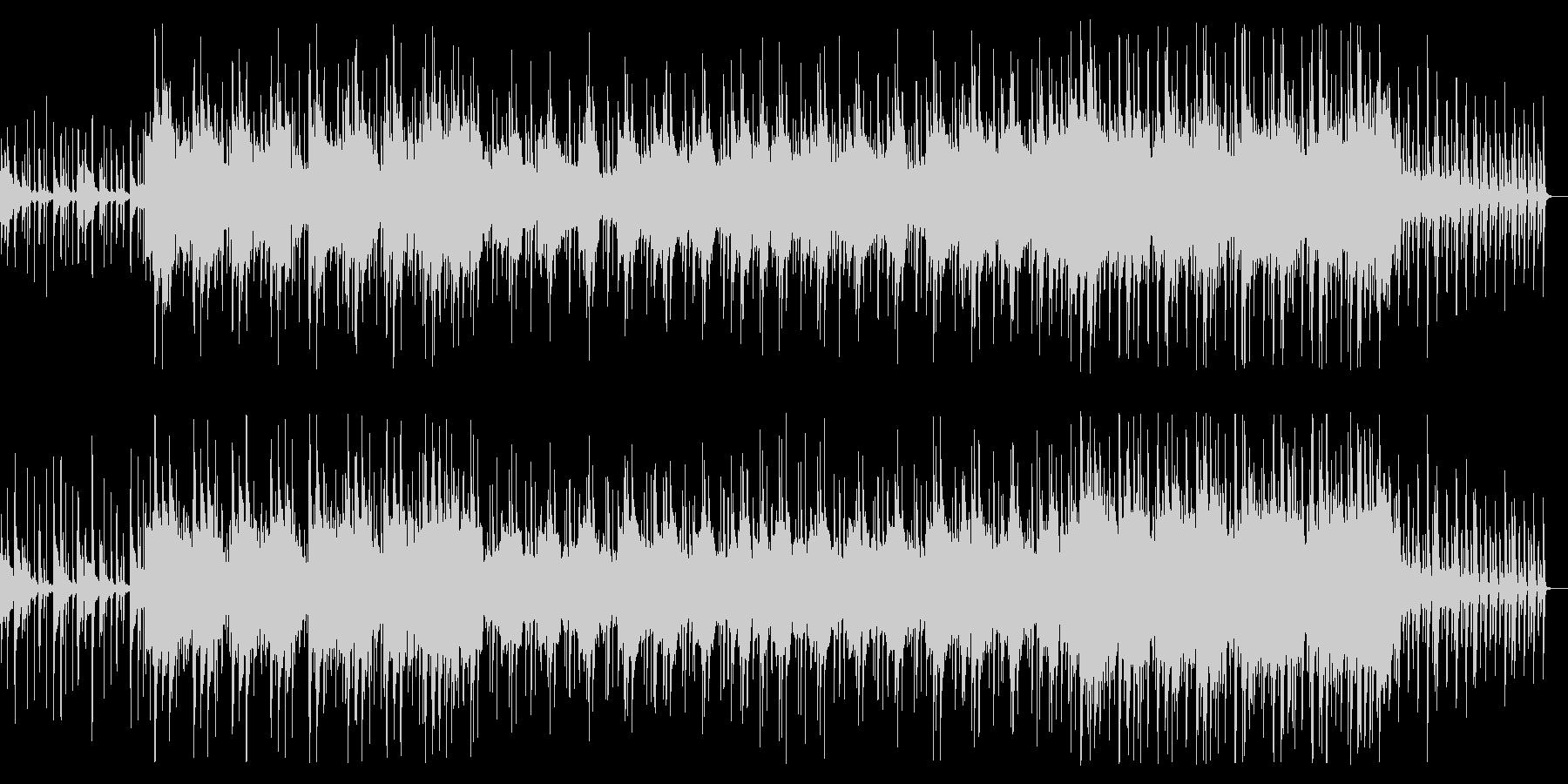 ゆったりしたインディアン風の民族音楽の未再生の波形