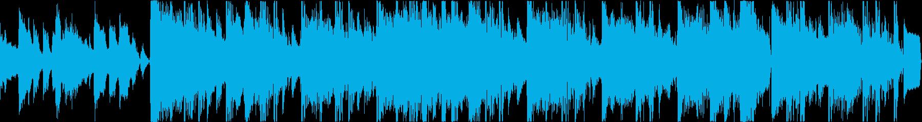 ビジュアル重視の映像などにピッタリBGMの再生済みの波形