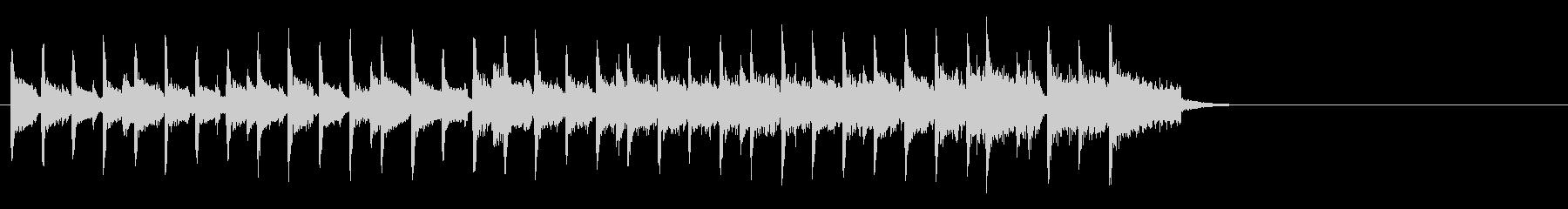 ブリティッシュなポップ(イントロ)の未再生の波形