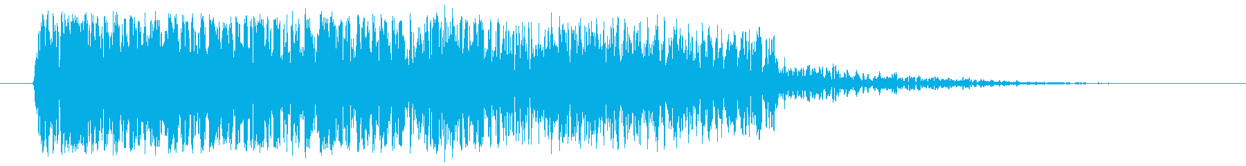 DEBRIS爆発と爆弾による大気圧爆発の再生済みの波形