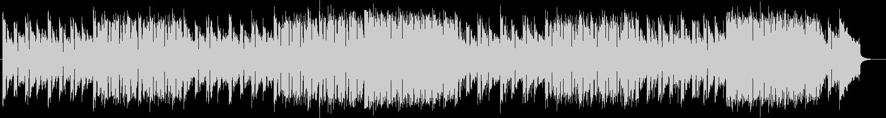 アップテンポなリズムが特徴のポップの未再生の波形
