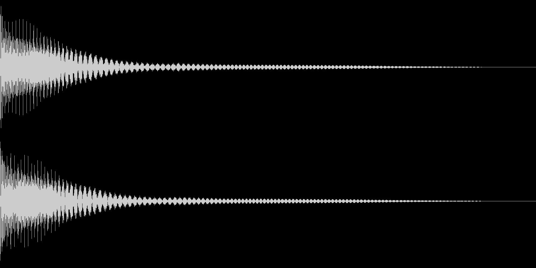Cancel キャンセルコマンドSE 5の未再生の波形