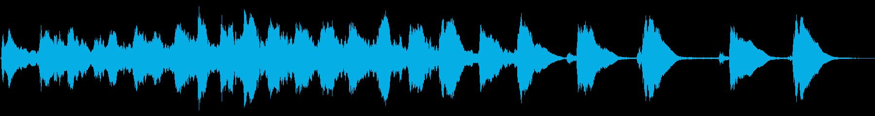 レプトン教会トレブルEベル:リンギングの再生済みの波形
