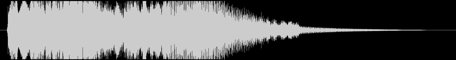 尺八と琴の静かなジングルです(12秒)の未再生の波形