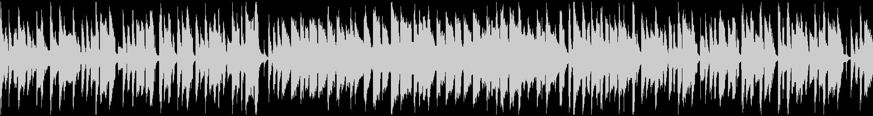 素朴、ほのぼの脱力系リコーダー※ループ版の未再生の波形