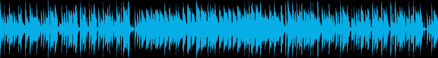 素朴、ほのぼの脱力系リコーダー※ループ版の再生済みの波形